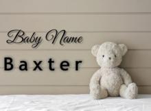 Baby Name Baxter