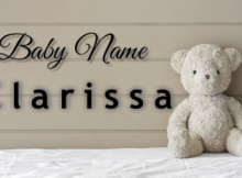 Baby Name Clarissa