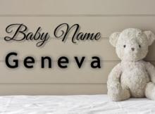 Baby Name Geneva