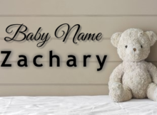 Baby Name Zachary
