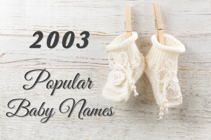Popular Baby Names 2003