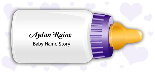 Aydan Raine Baby Name