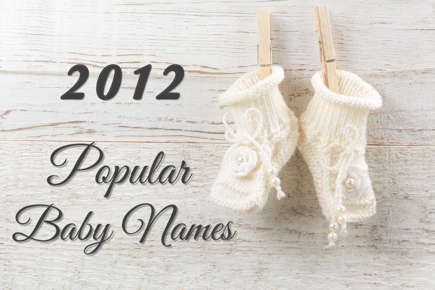 Popular Baby Names 2012