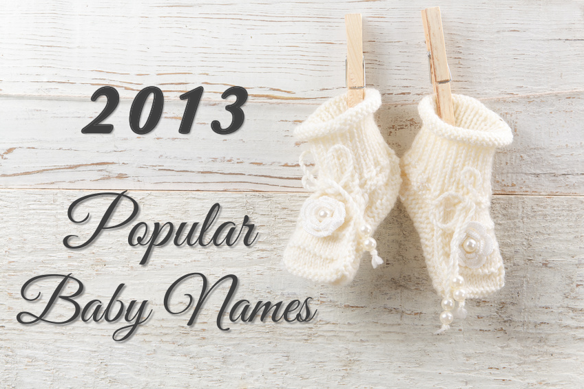 Popular Baby Names 2013