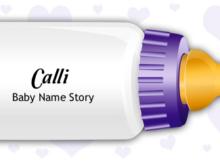 Baby Name Calli