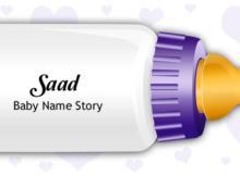 Baby Name Saad