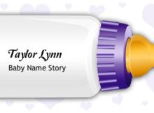 Taylor Lynn Name Story