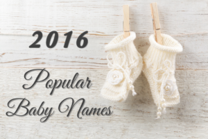 Popular Baby Names 2016