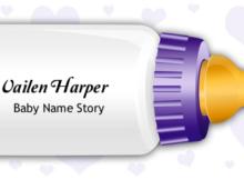 Vailen Harper Name Story