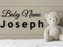 Baby Name Joseph