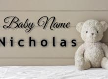 Baby Name Nicholas