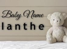 Baby Name Ianthe