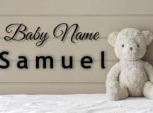 Baby Name Samuel